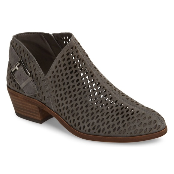 c79ef000252 Vince Camuto Phandra Perforated Booties. M 5b60719412cd4a89b0e56831